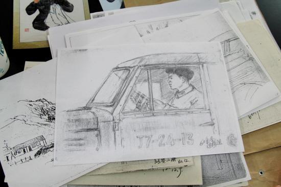 杨宝威谈为雷锋画像 几次要画雷锋均被拒绝