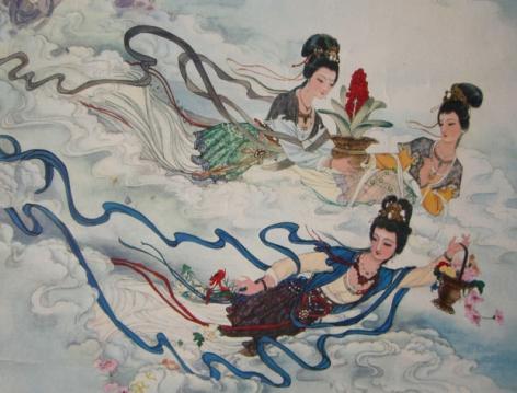 天女散花之地在何处 专家考证或在湖南湘潭指方村图片