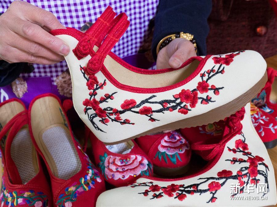 #(感悟非遺)(2)傳承與發展中的佘族手工布鞋