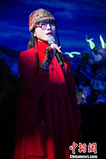 圖為知名舞蹈藝術家楊麗萍。 李南軒 攝