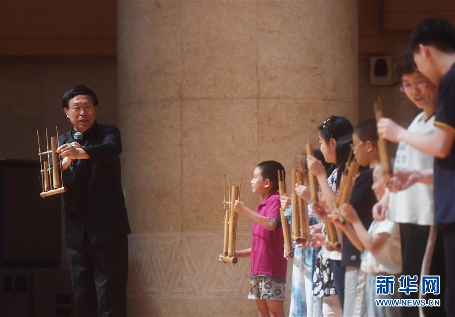 (文化)(1)綠色竹樂音樂會在京舉行